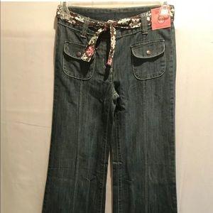 Gymboree Winter Snowflake Jeans Size 8